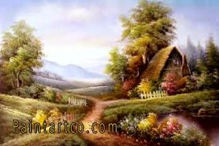 اجمل اللوحات الفنية الطبيعية لوحات فنية زيتية للطبيعة رائعة الجمال لوحات فنية زيتية لمناظر طبيعية بسيطة جميلة جدا اجمل اللوحات الفنية Art Painting Blog Posts