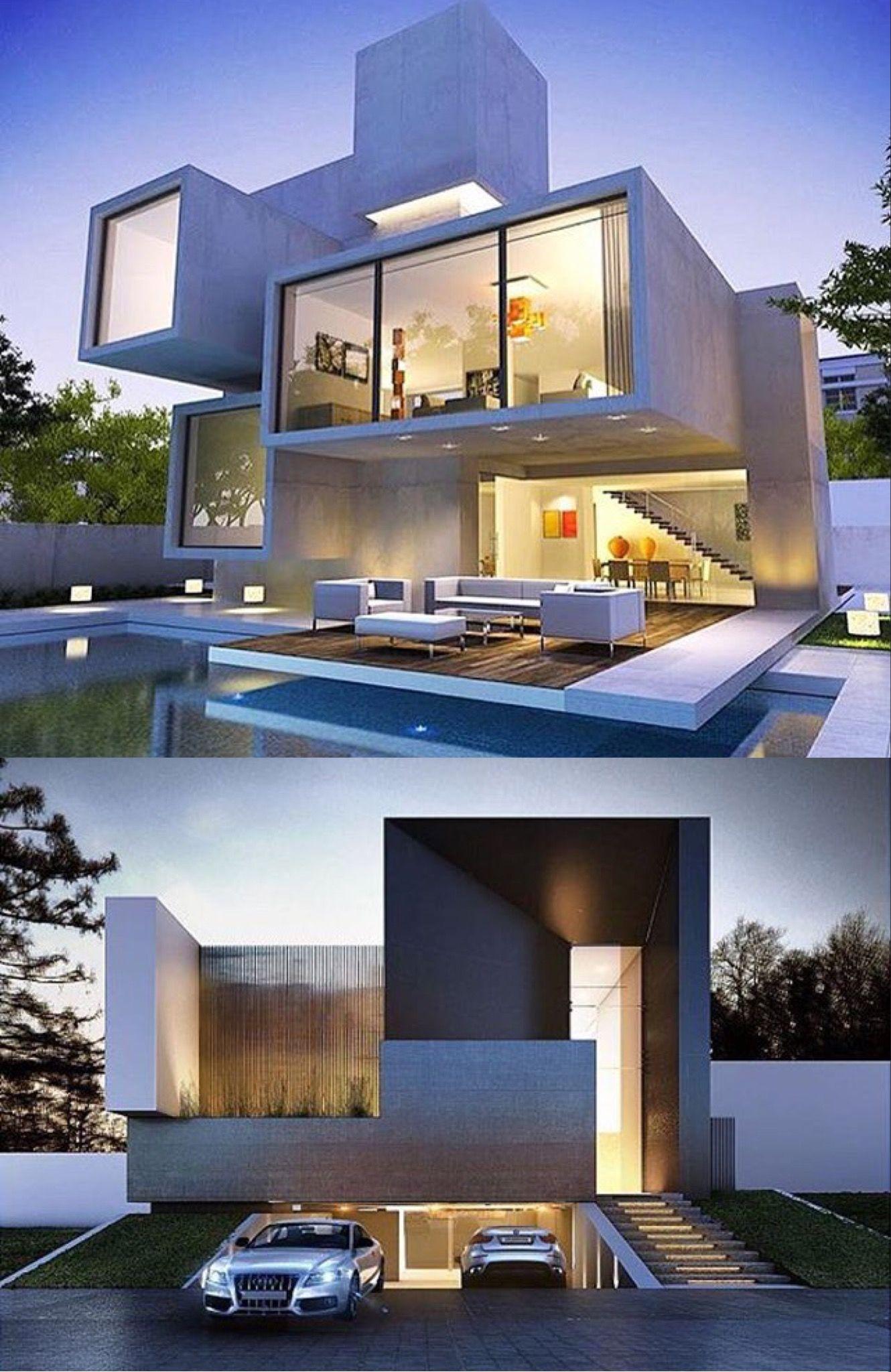 Modern bungalow exterior villa design small home also south african firm nico van der meulen completed  project rh pinterest