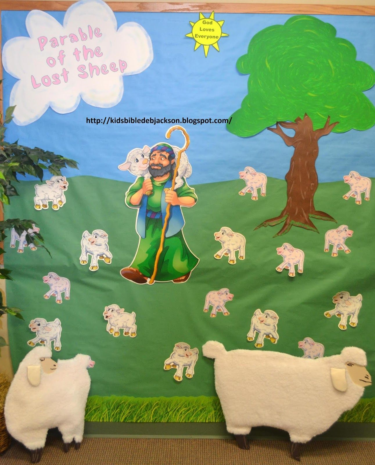 Parables Of Jesus Vbs Day 3e Lost Sheep Amp Coin