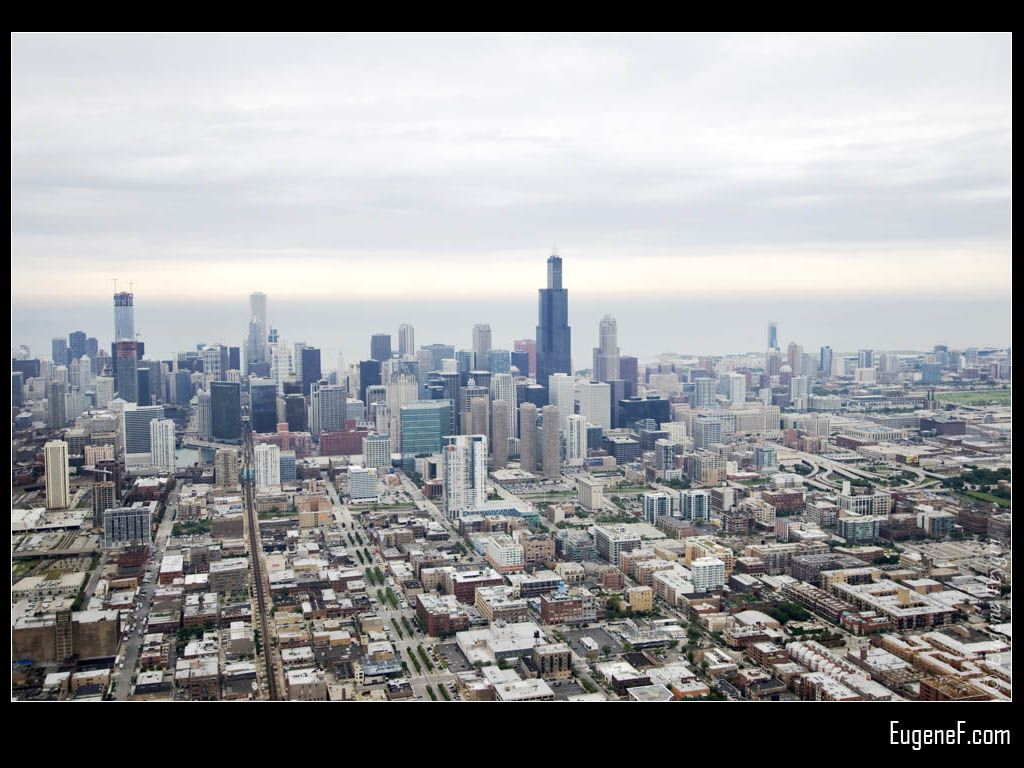 Chicago City #Aerials #freewallpapers