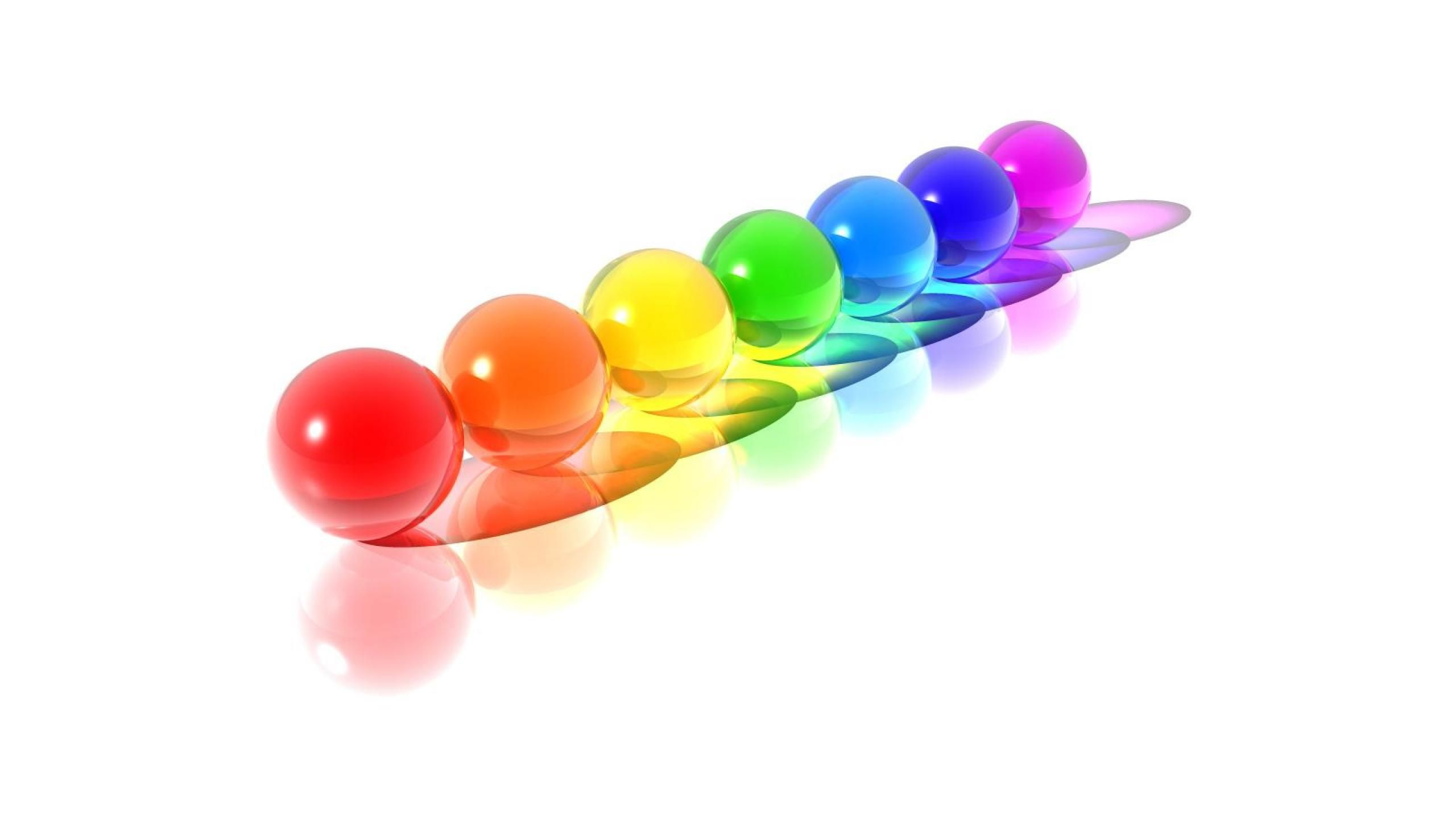 Hd Wallpaper 7 Kids Color Balls 2560x1440 See More On Classy