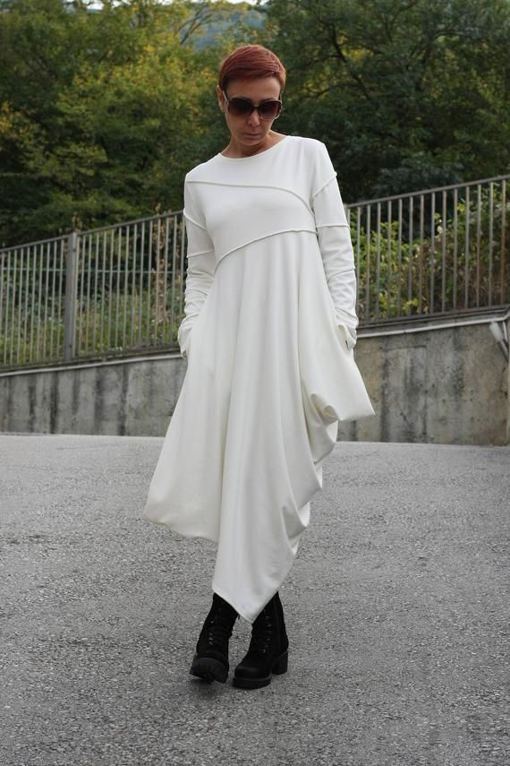 a122be8bbd9 Extravagant Long Sleeves Dress