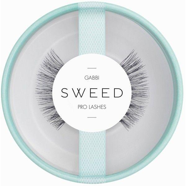 Sweed Lashes Gabbi ($19) ❤ liked on Polyvore featuring beauty products, makeup, eye makeup, false eyelashes, beauty, black and womens-fashion