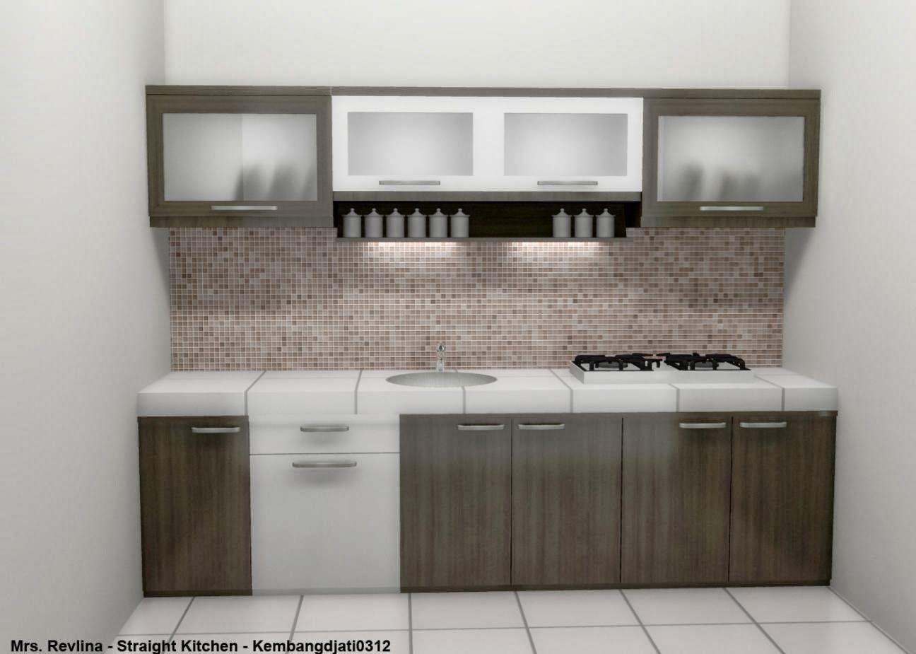 Dapur Kecil Kitchen Set Minimalis Kitchen Set Mini Bar With