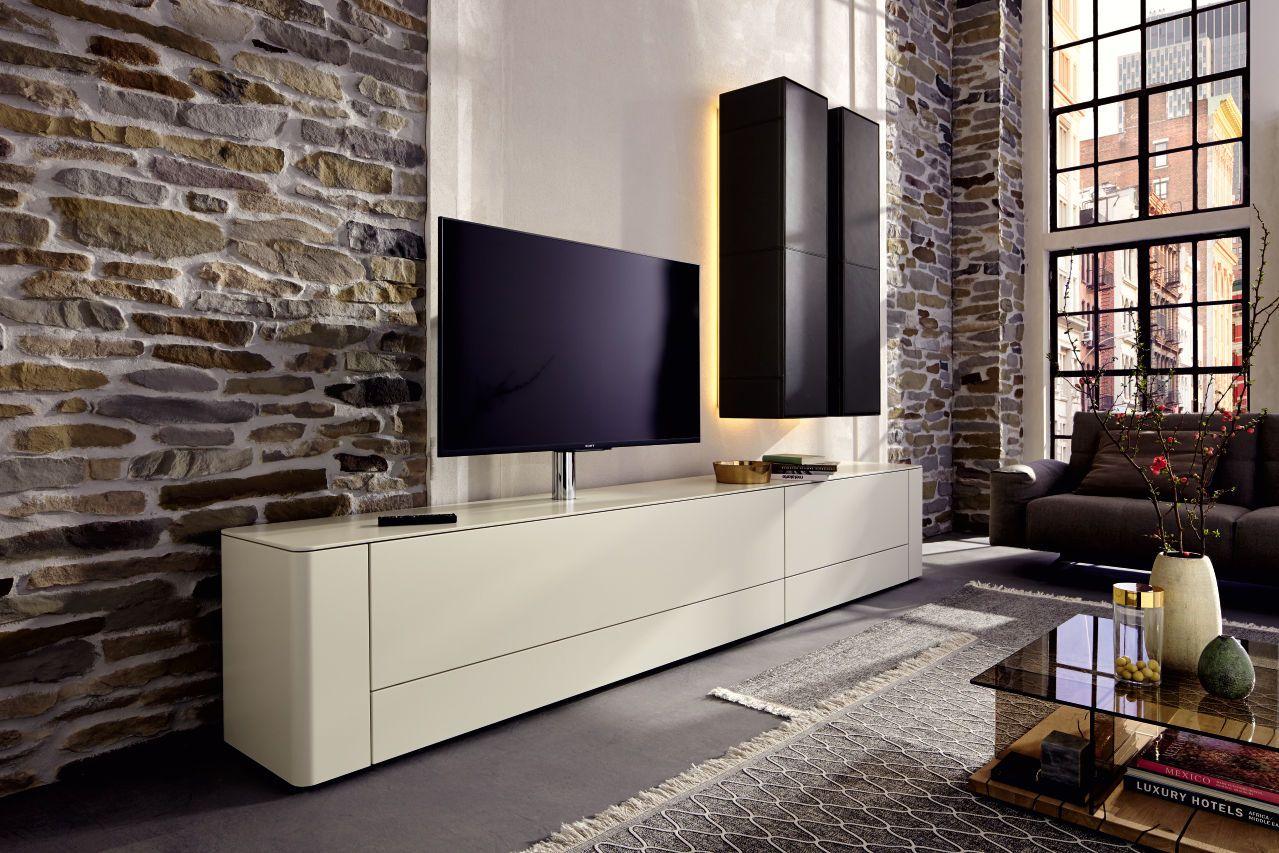 Nicht Nur Der Fernseher Ein Hingucker. GENTIS Living Bietet Extravagante  Designs Für Das Wohnzimmer.