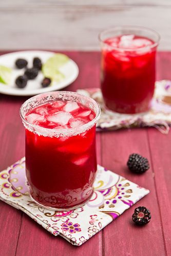blackberry margaritas?? yes, please!