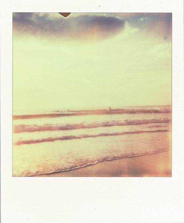 Hossegor, May 2012. Shot with Polaroid 636 close up.