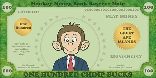 Printable Play Money For Kids  Play Money Template  Money Games