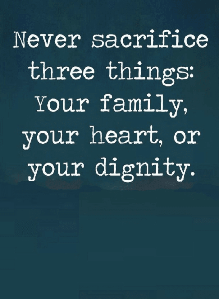 Quotes The Three Most Important Things In Life The First One Is