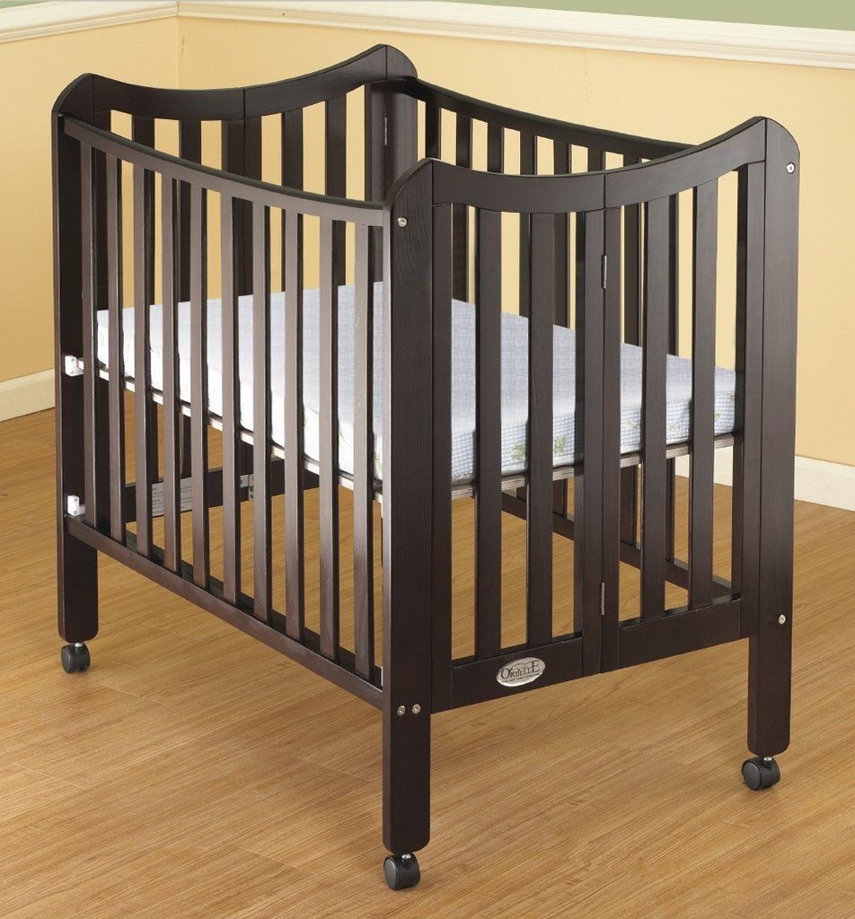 The Tian Three in One Portable Crib, with Mattress