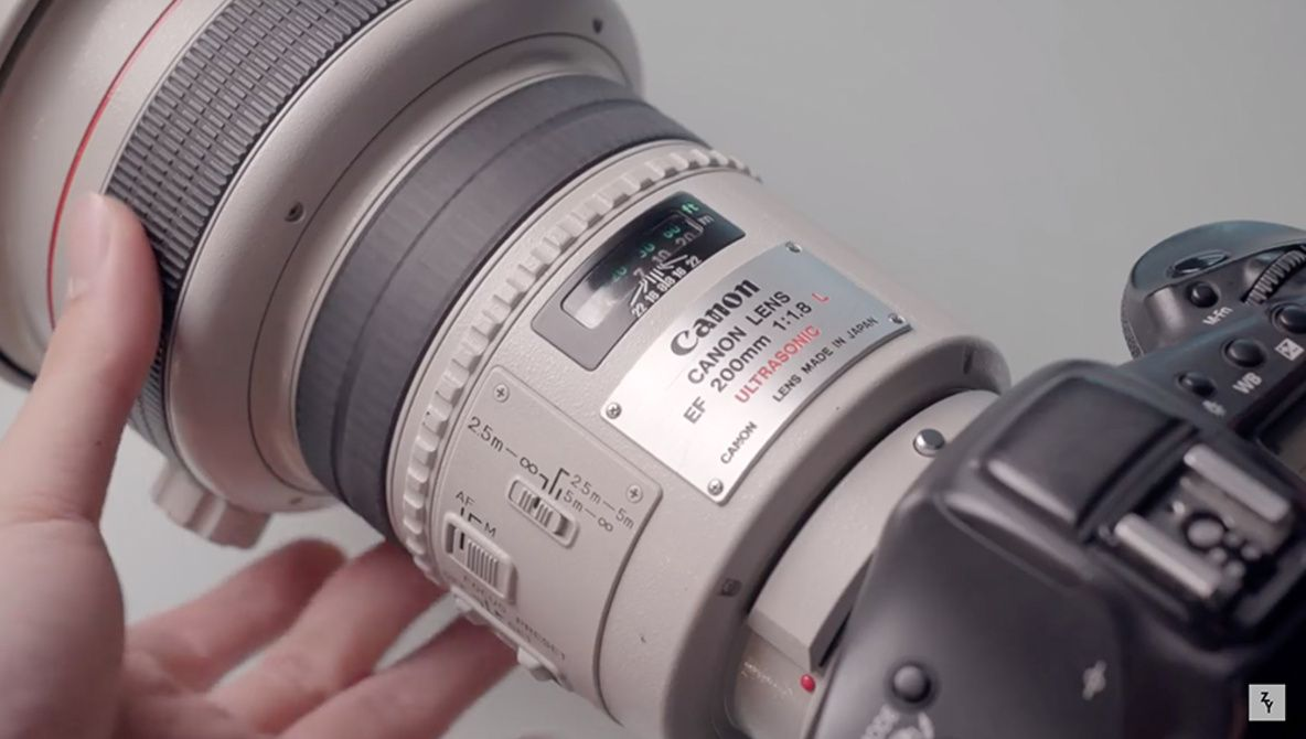 Why Was The Canon 200mm F 1 8 So Expensive Expensive Canon F 1