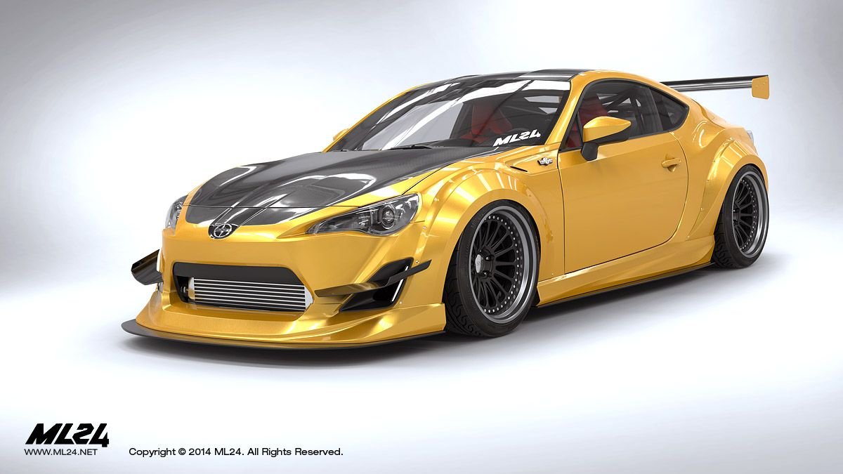 Automotive Design Prototyping And Body Kits Body Kit Automotive Design Toyota Gt86