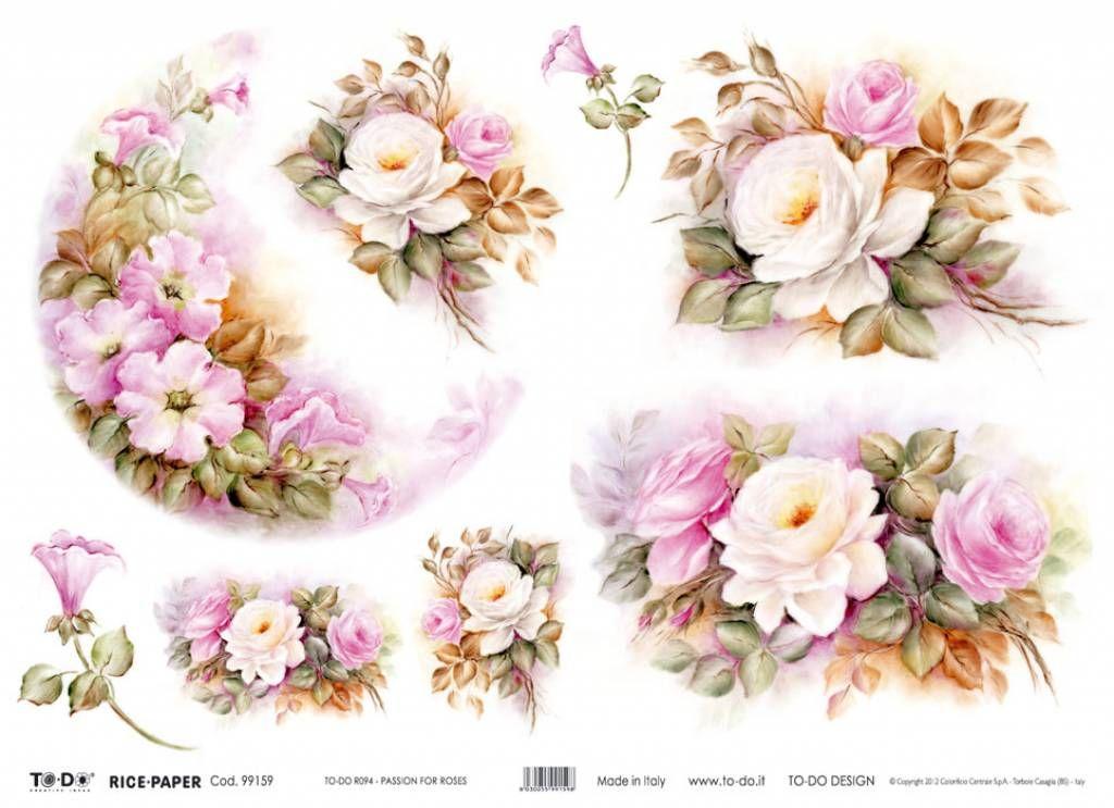 Carta decoupage fiori szukaj w google flowers kwiaty for Carta decoupage