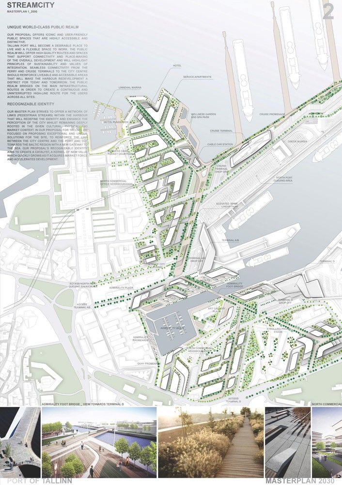 Gallery Of Zaha Hadid Architects Wins Competition For Port Of Tallinn Masterplan In Estonia