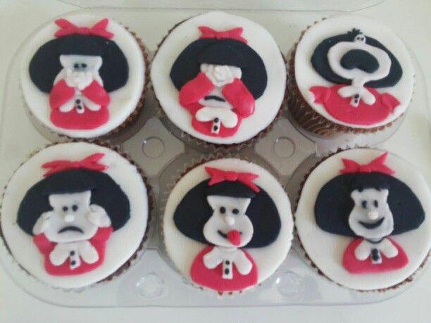 Cupcake da Mafalda