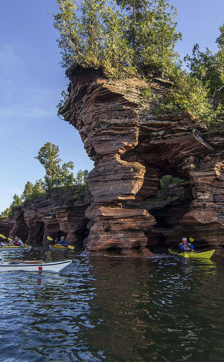 apostle islands national lakeshore | travel | vacation ideas | road