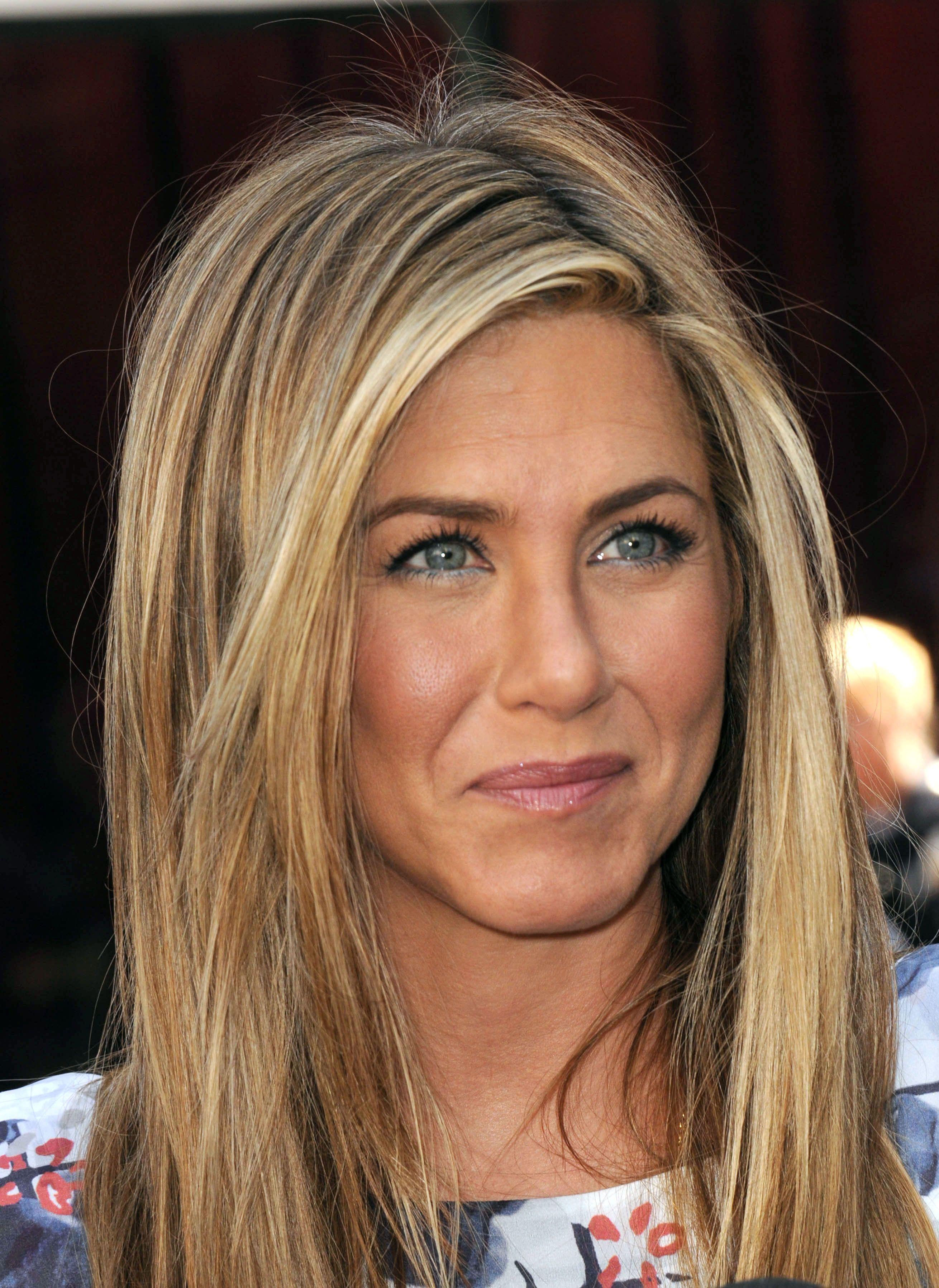 Celebrity Eye Color Blue Vs Brown Jennifer Aniston Hair