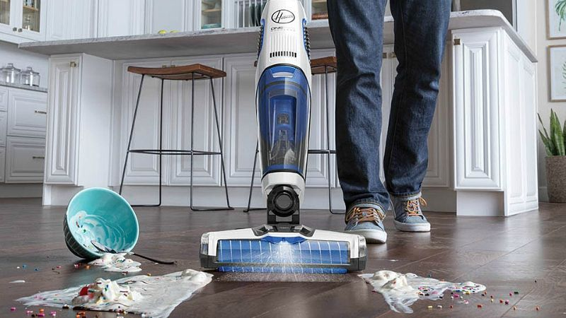 Hoover onepwr floormate jet portable carpet cleaner