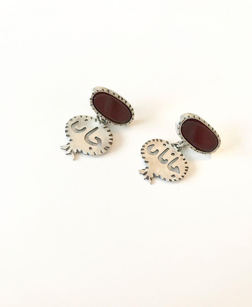 Pomegranate Jane Janan Earrings