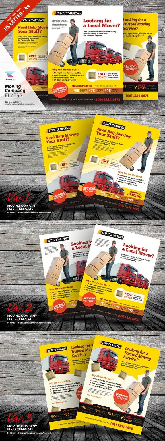 moving company flyer templates flyer templates 700