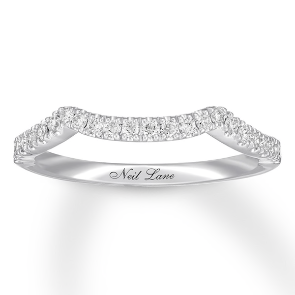 Neil Lane Diamond Wedding Band 1 4 Ct Tw 14k White Gold Diamond Wedding Bands Wedding Bands White Gold