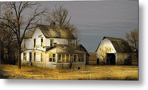 Forsaken And Forlorn Metal Print By Bonfire #Photography
