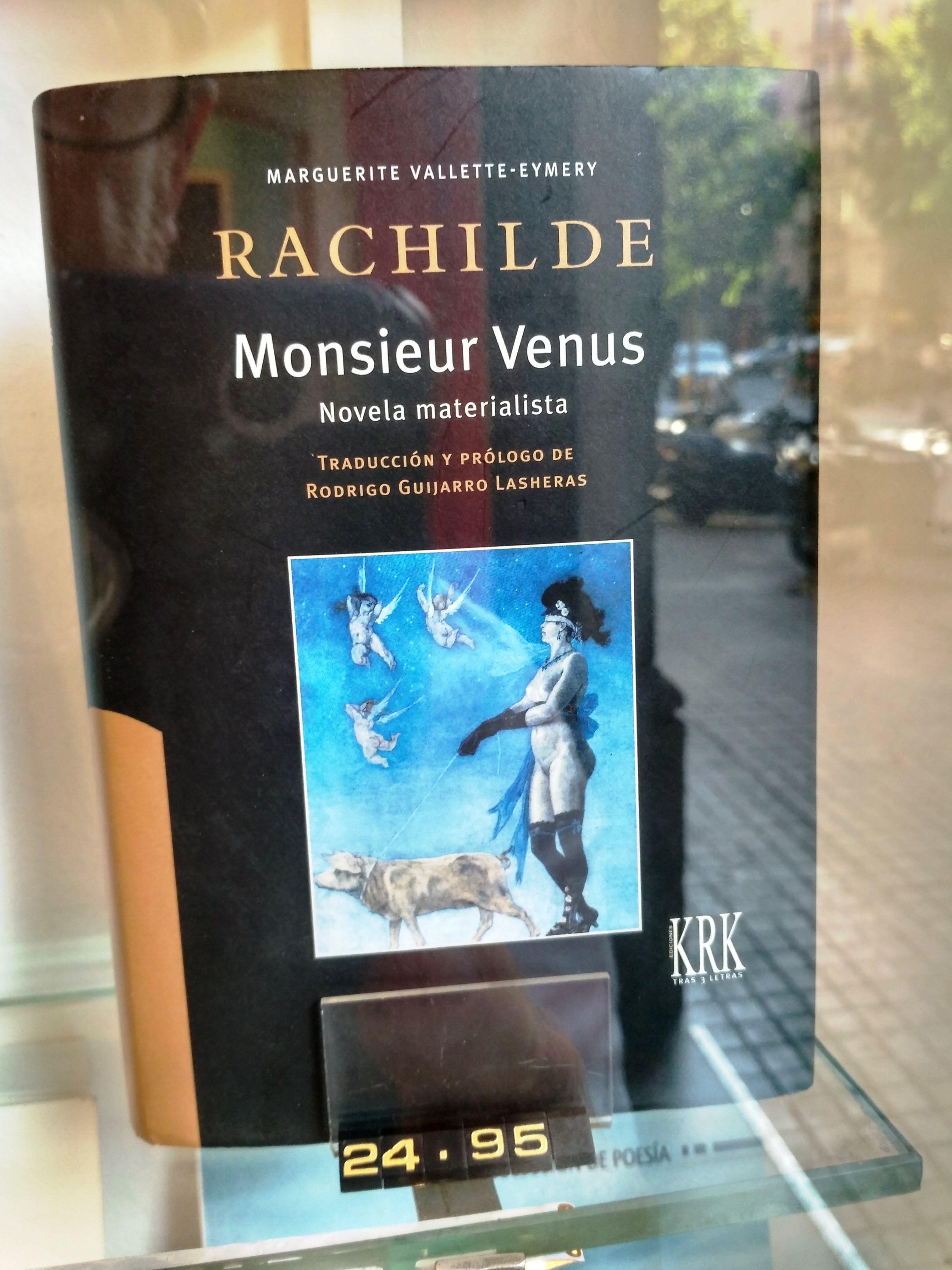 """""""Monsieur Venus"""" de Rachilde. KRK"""