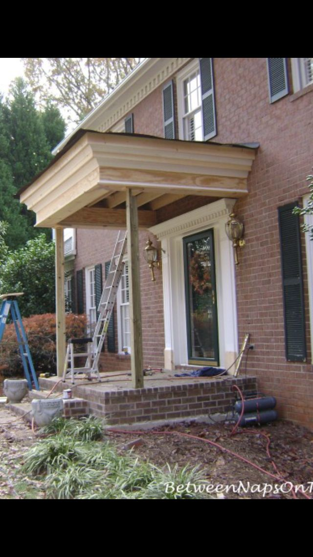 Pin By Shannon Lizewski On Home Colonial Exterior Portico Design Porch Remodel