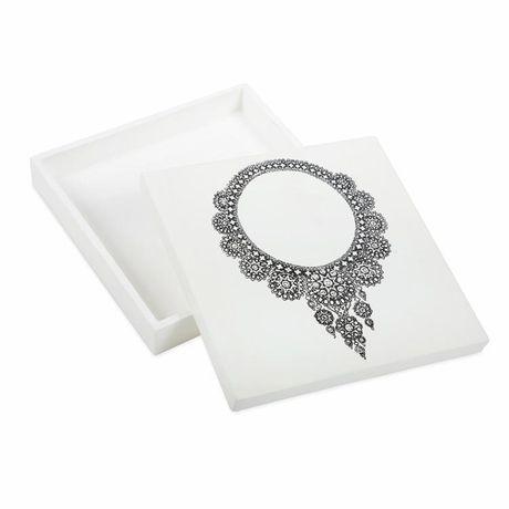 Black Necklace Jewelry Box