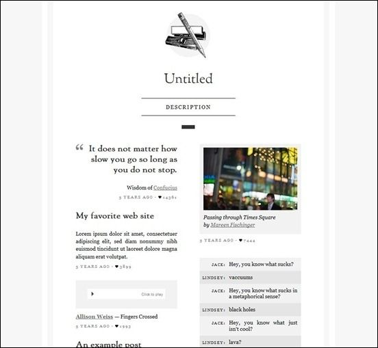 50 Simple Tumblr Themes For Your Tumblr Space | Internet | Pinterest