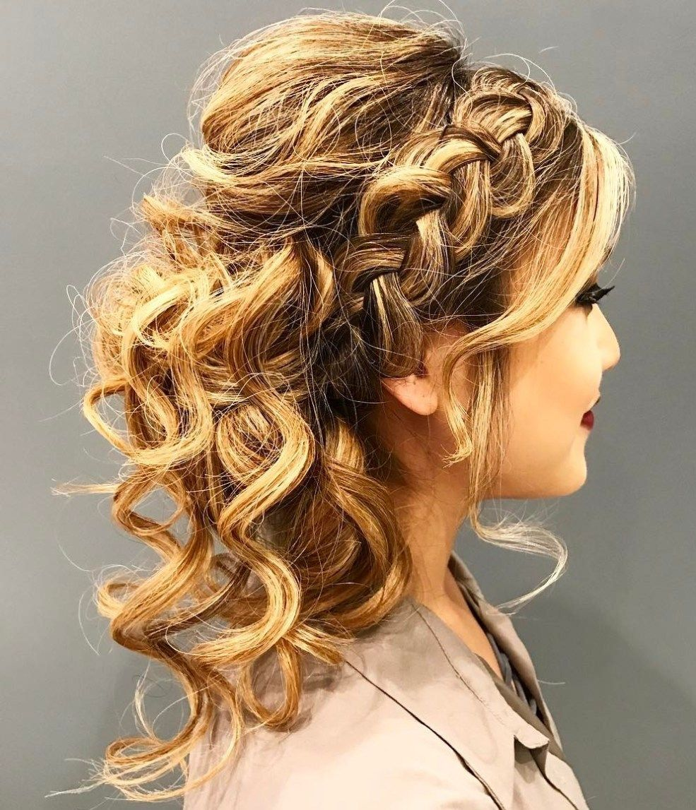 Creative Updos for Curly Hair  Updos and Updo