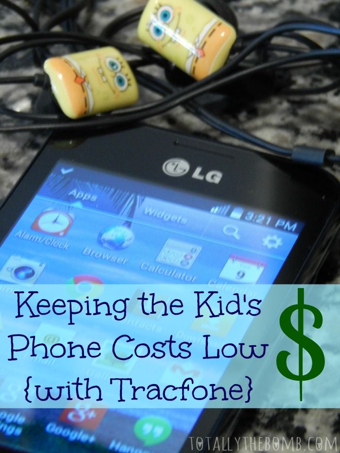 How many times did I yell at my kid for going over her limit?! No more, I say! No more! Now, I'm Keeping the Kid's Phone Costs Low with Tracfone. #ad
