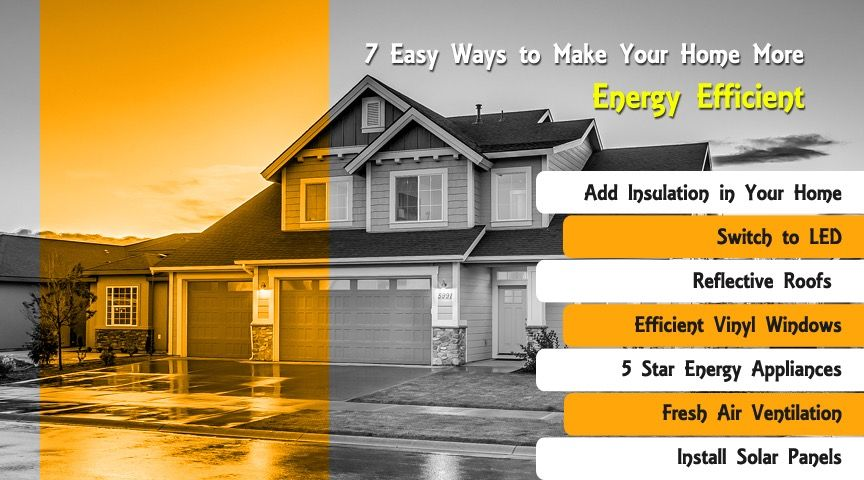 7 Easy Ways To Make Your Home More Energy Efficient Solar Panel