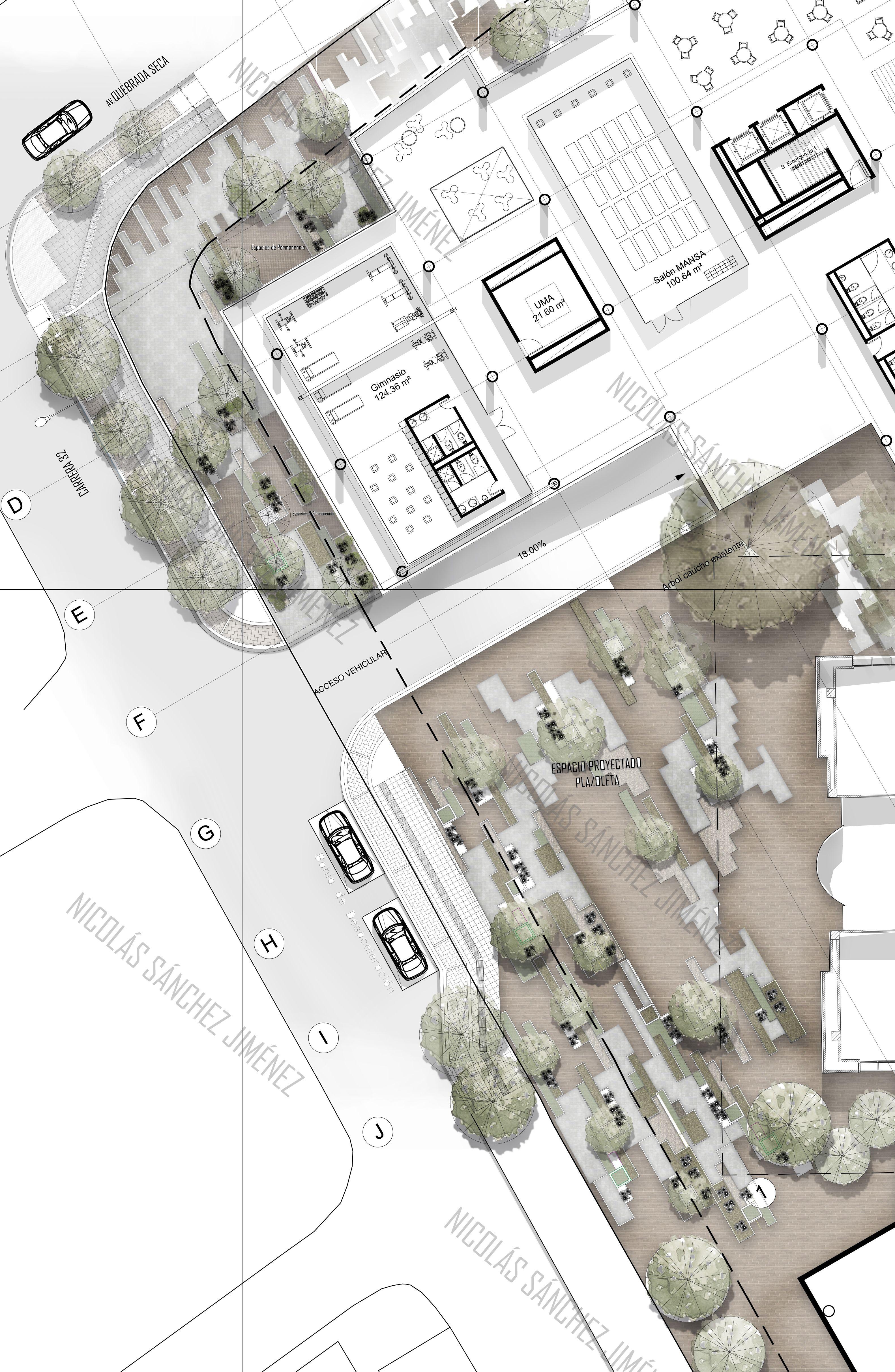 Espacio Publico Inclusion Social Transitar Permanecer Interac Tarjeta De Presentacion Arquitectura Diagramas De Arquitectura Ilustraciones De Arquitectura