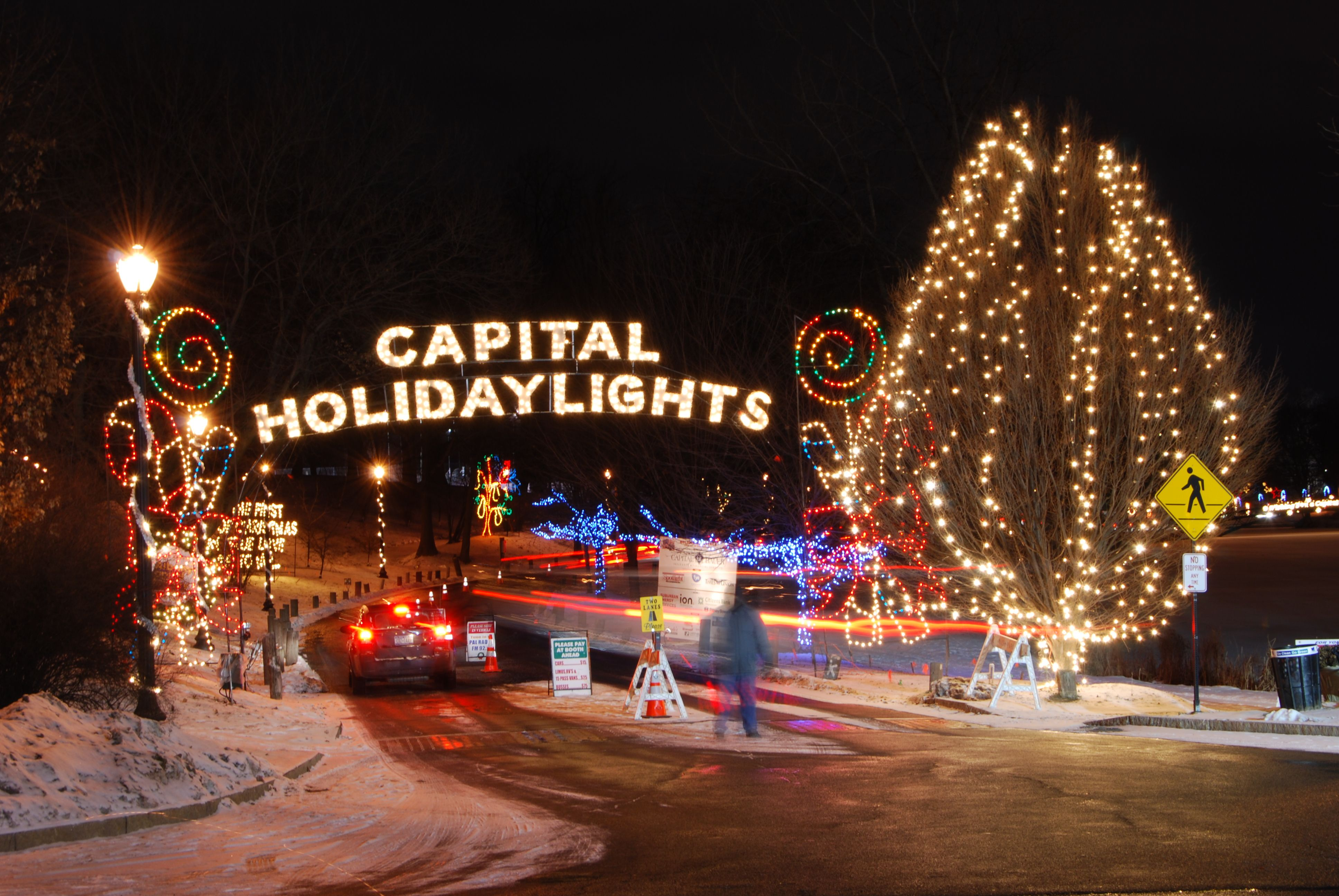 Christmas Lights In Washington Park Albanyny 2020 Albany Police Athletic League, Albany, NY: Capital Holiday Lights