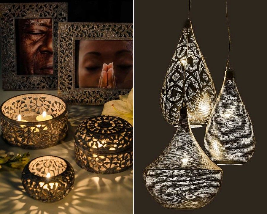 Exquisite Craftsmanship in these Egyptian Pendants & Lights