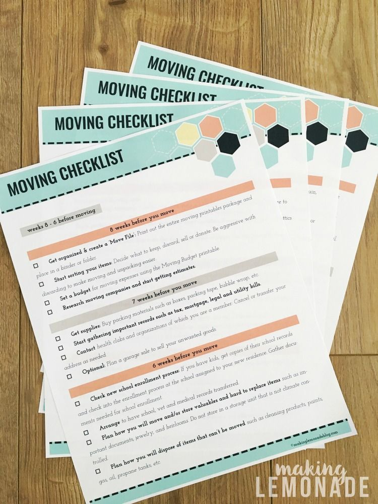 Woah This Free Printable Moving Kit Is Chock Full Of Printables