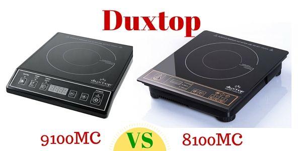 Duxtop 8100mc Vs Duxtop 9100mc Induction Cooktop Stainless Steel Frame Cooktop