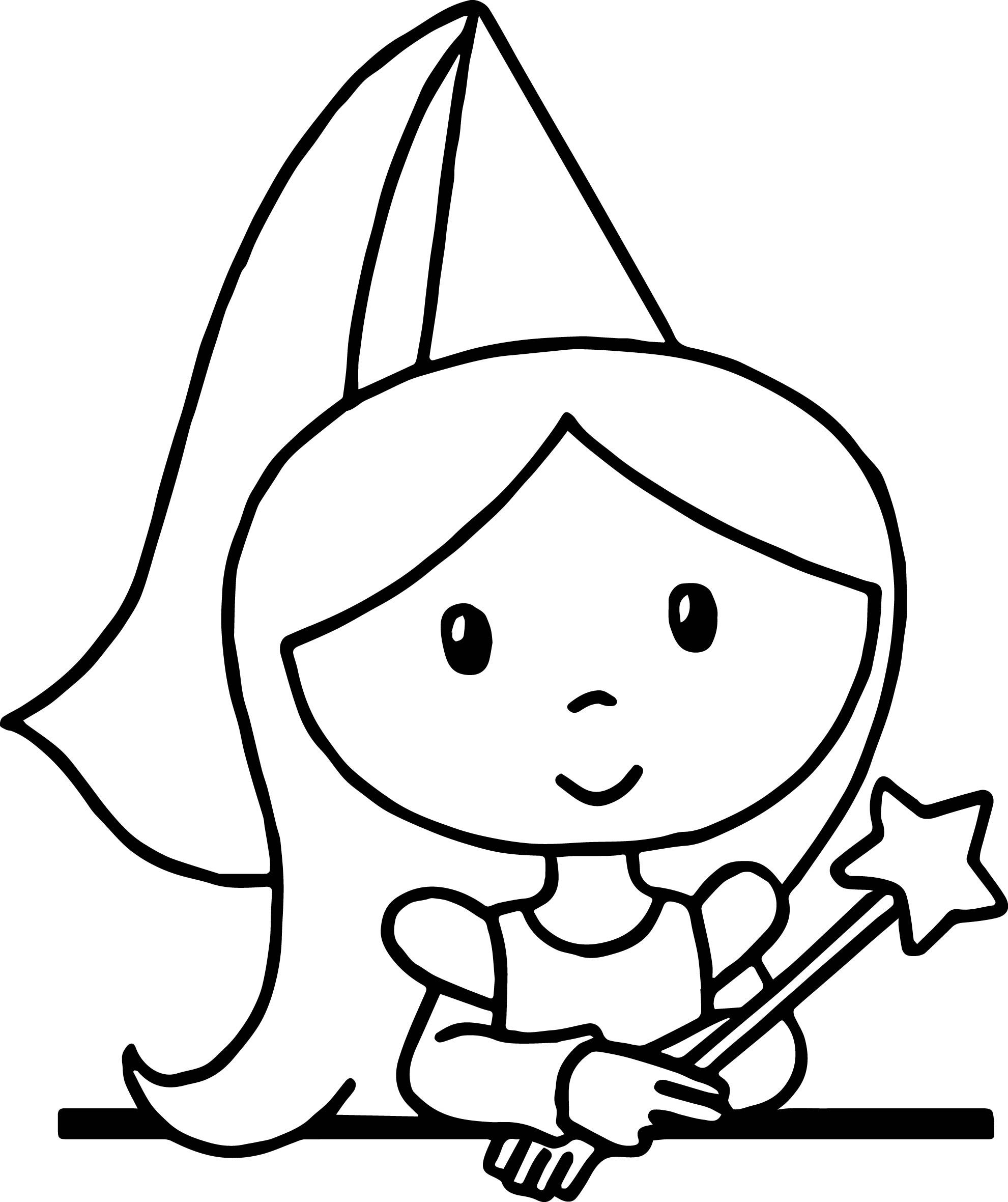 Cool Cute Cartoon Princess Standing Coloring Page Princess