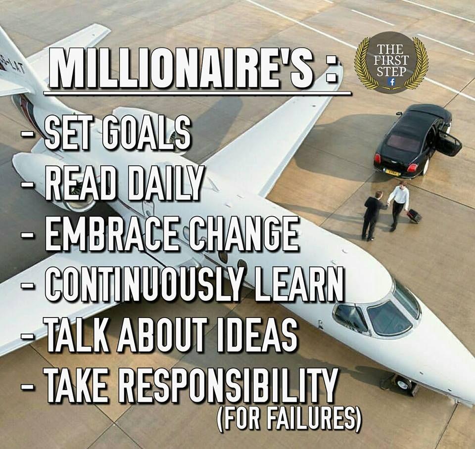 Million dollar mind | Millionaire quotes, Millionaire ...