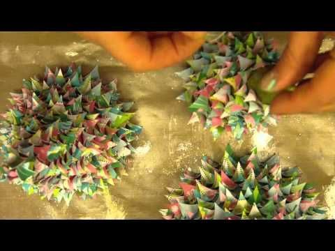 Learn How to Make These Fabulous 3D Cone Paper Christmas Trees