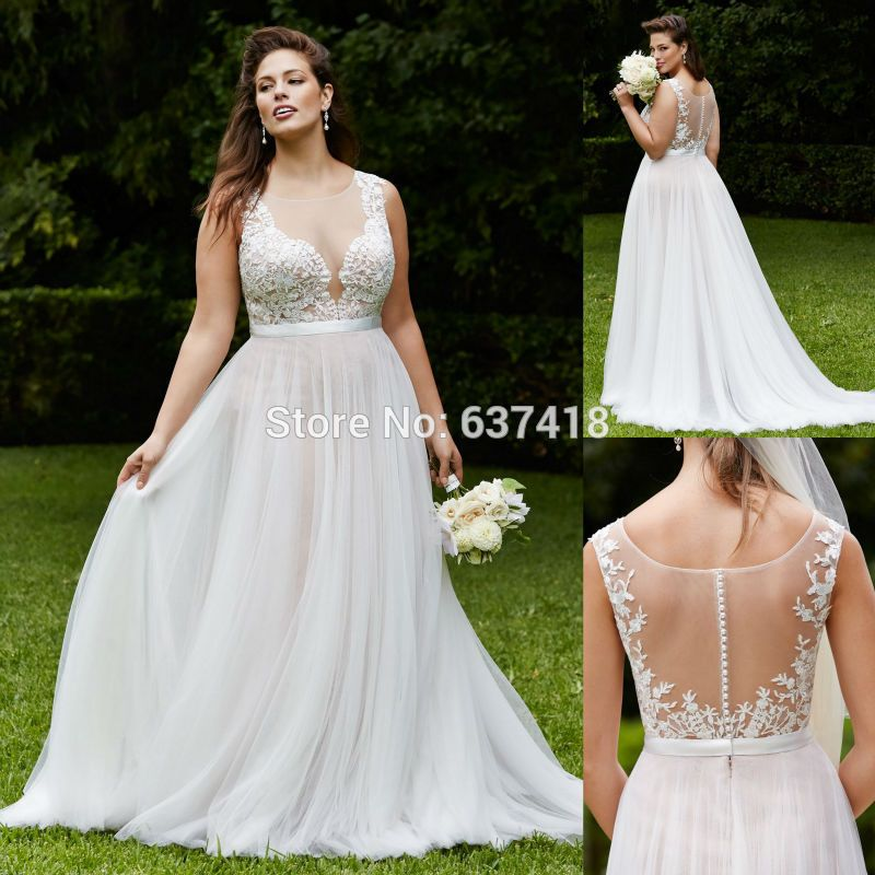 Pin By Leah Bennett On L D Pinterest Searching - Cream Wedding Dresses Plus Size