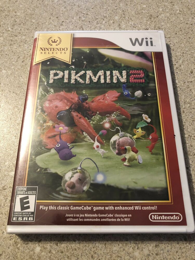 Details About Pikmin 2 Wii Nintendo Selects Version Brand New