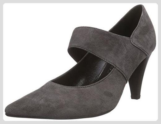 Gabor Shoes 31.282 Damen Knöchelriemchen Pumps ,Grau (zinn 19) ,38 EU - b296acd19d