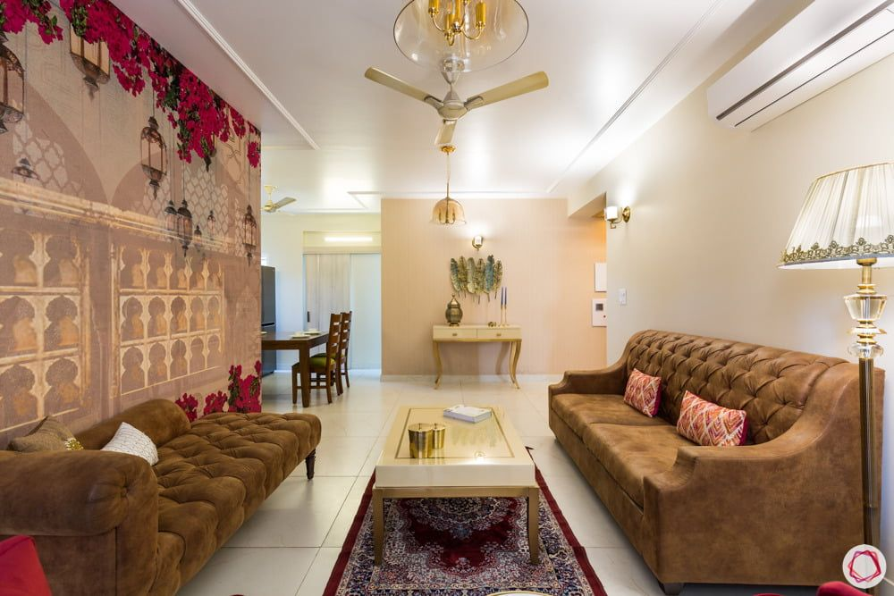 This 3bhk Is Beautiful On A Budget Living Room Designs Interior