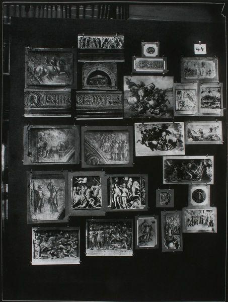 Aby Warburg       Der Bilderatlas Mnemosyne - Tafel 44       London / Warburg Institute       1928.