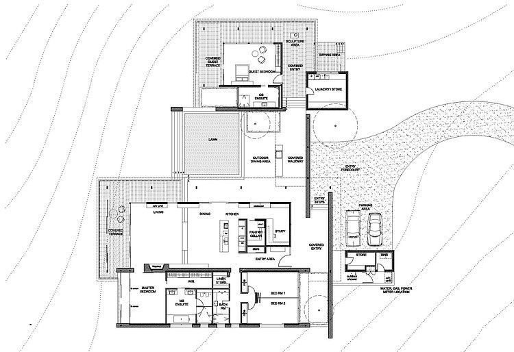South Western Australia Residence By Tierra Design Homeadore Australia House Courtyard House Plans House Floor Plans