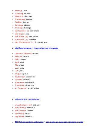 Vocabulario alemán (completo)   aleman   Pinterest   Sprachen und ...