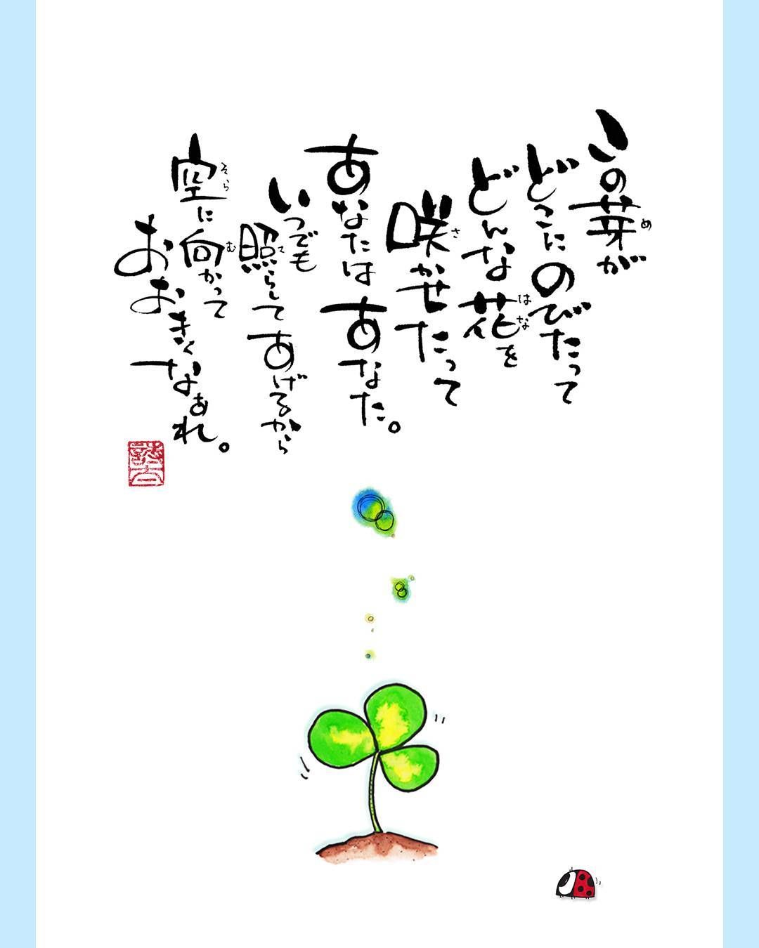 詩 太 (うーた)さんはInstagramを利用しています:「この芽がどこにのび ...