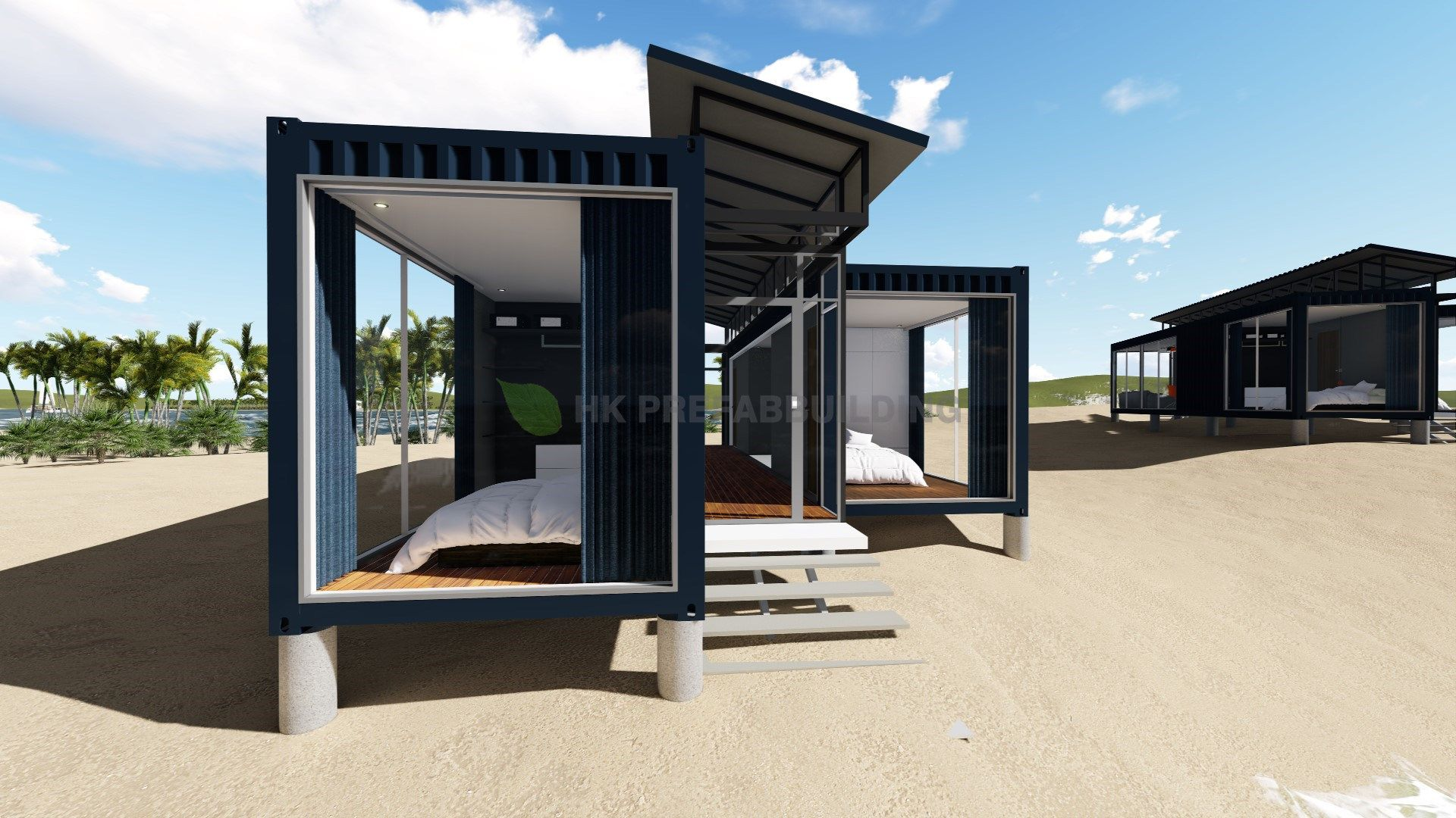 Deluxe Ocean View Modular Prefabricated 40feet Shipping Container